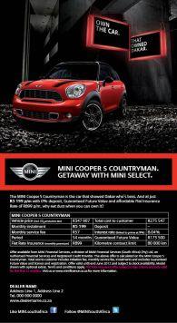 FPP4911 R60 Cooper S Select